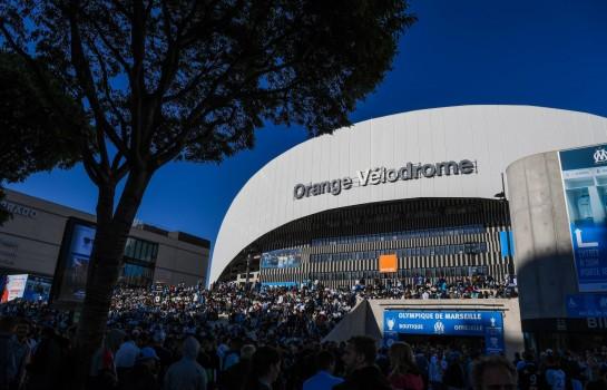 Affluence massive au Vélodrome pour OM - Montpellier HSC