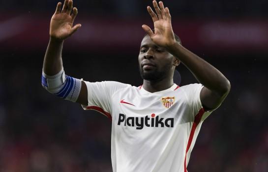 Ibrahim  Amadou, ancien défenseur du LOSC actuellement au FC Séville, visé par l' OL.