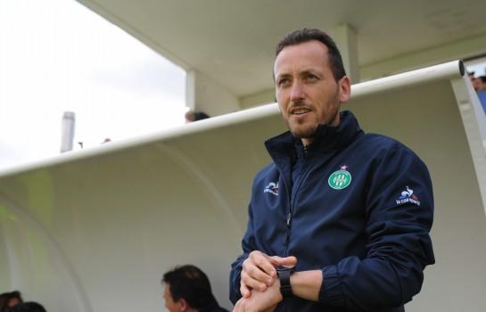 Jérôme Bonnet, entraîneur de l'équipe féminine de l' ASSE.