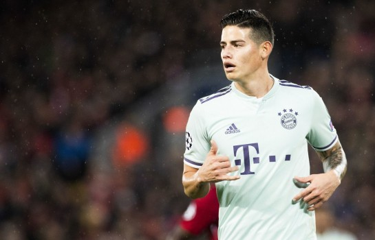 Real Madrid : un club italien pour sauver James Rodriguez