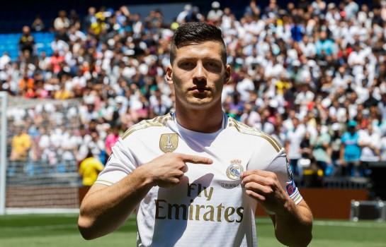 Transféré au Réal Madrid cet été, Luka Jovic est annoncé à l'AC Milan.