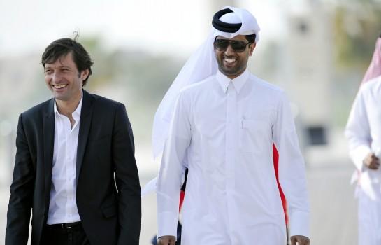 Leonardo et Nasser Al-Khelaïfi de nouveau réunis au PSG.