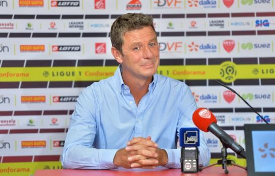 Stéphane Jobard, nouvel entraineur du Dijon FCO.