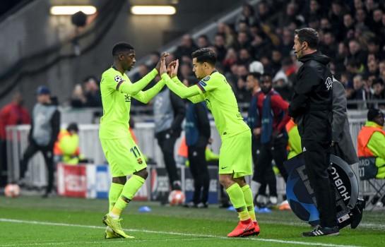 Dembélé et Coutinho conservés par le Barça grâce à Messi