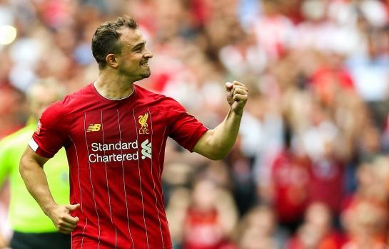 Xherdan Shaqiri, l'attaquant de Liverpool, serait visé par l'AS Monaco