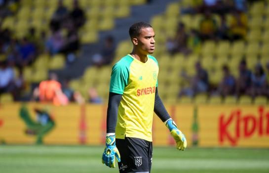 Alban Lafont et le FC Nantes s'apprêtent à affronter le RC Strasbourg.