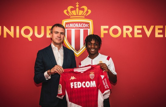 Arthur Zagre nouveau joueur de Monaco.