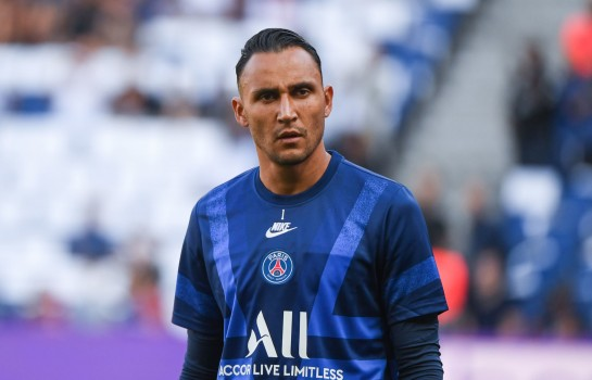 Keylor Navas, gardien de but du PSG.