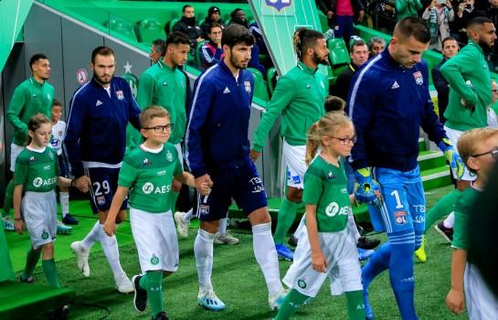 L' ASSE a battu l' OL dans le derby de la 9e journée de Ligue 1.