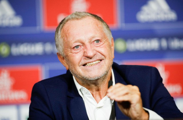 Jean Michel Aulas président de l'OL