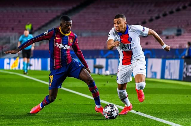 Dembélé préféré à Mbappé au Barça