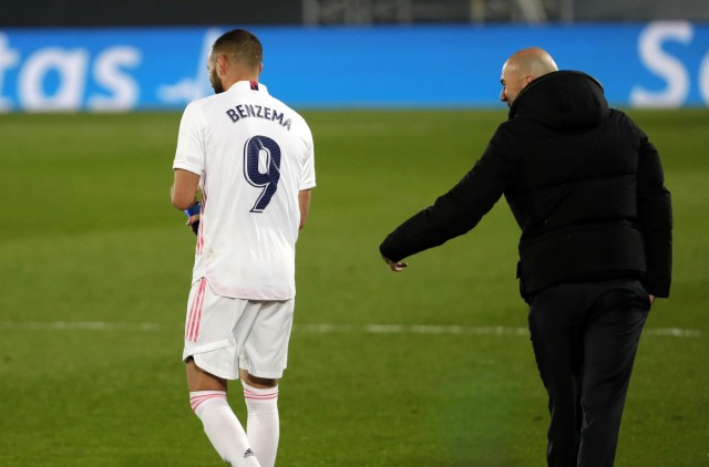 Karim Benzema et zidane au Real Madrid