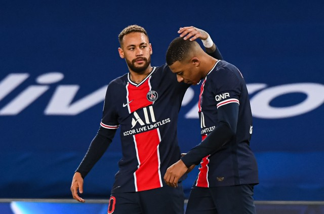 Neymar et Mbappé au PSG