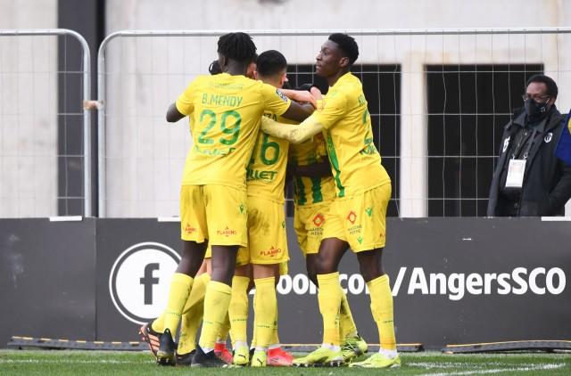 le FC Nantes s'impose face à Angers