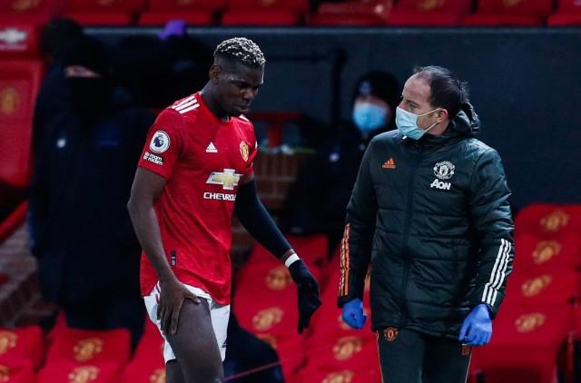 Paul Pogba actuellement blessé