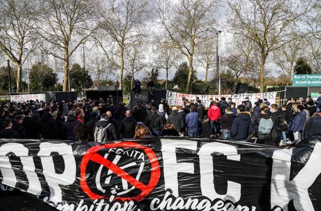 Les supporters du FC Nantes en guerre contre Kita