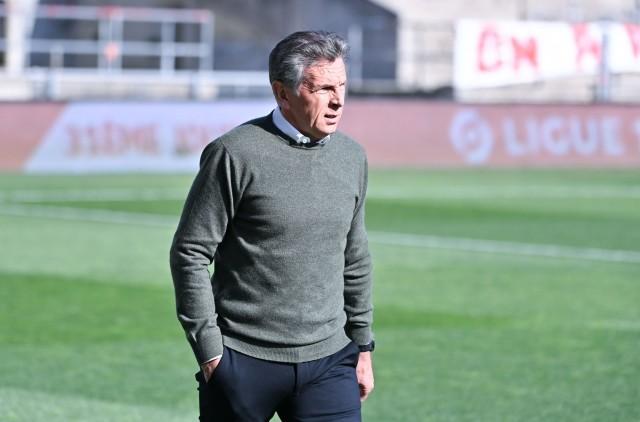 Claude Puel avec Neyou contre le PSG
