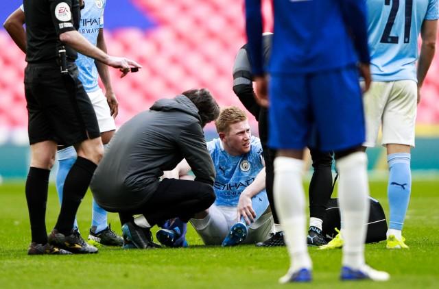 De Bruyne blessé en Cup contre Chelsea