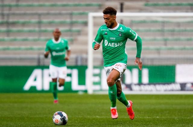 Denis Bouanga en forme avec Saint-Étienne