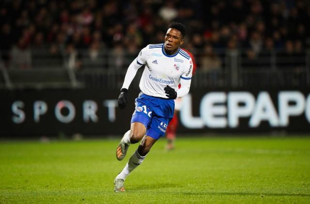 Lebo Mothiba repris l'entraînement avec Strasbourg