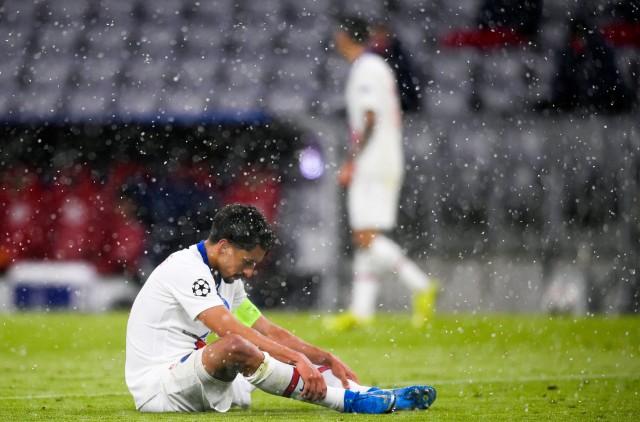 Marquinhos touché contre le Bayern