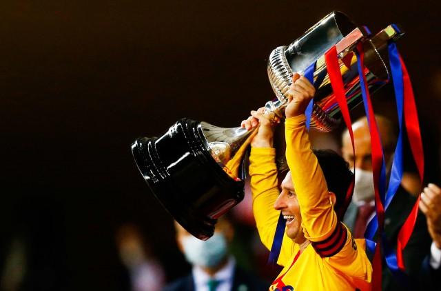 Messi vainqueur de la Coupe d'Espagne