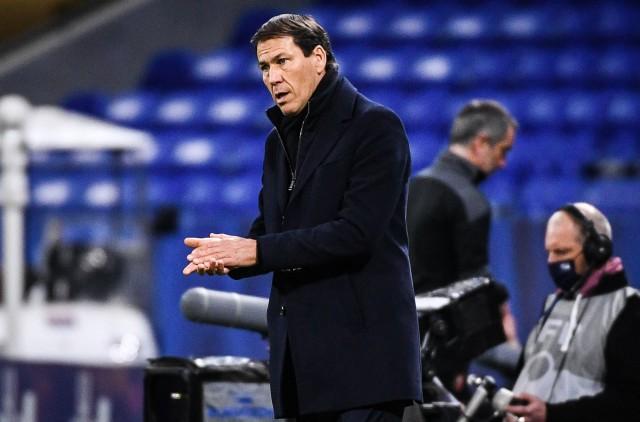 Rudi Garcia dans le flou à Lyon