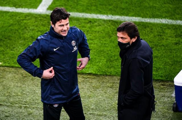 Leonardo, le directeur sportif du psg et l'entraîneur