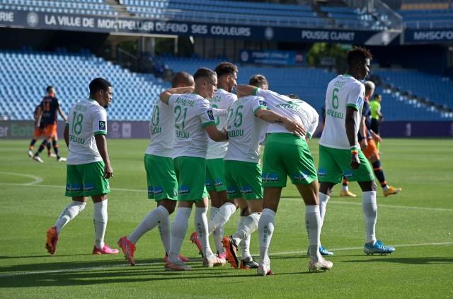 Les Verts de Saint-Étienne diminués contre le Lille OSC