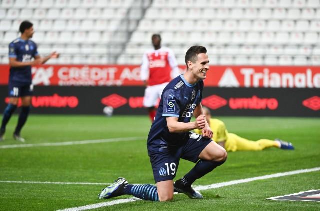 Milik se dit heureux à Marseille