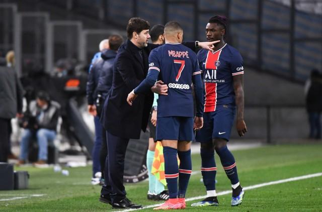 Mbappé touché au mollet contre City