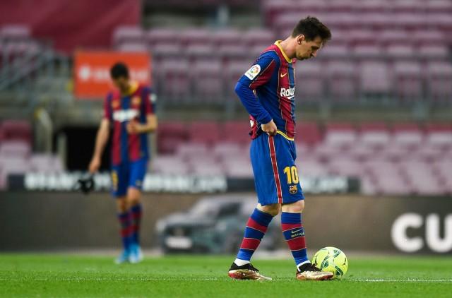 Lionel Messi encore privé de Liga cette année