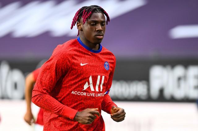 Moise Kean s'éloigne de la Juventus