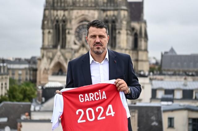 Oscar Garcia nouvel entraîneur du Stade de Reims