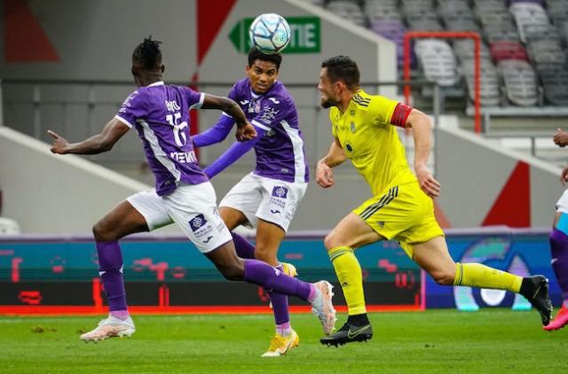 Amine Adli en action lors d'un match