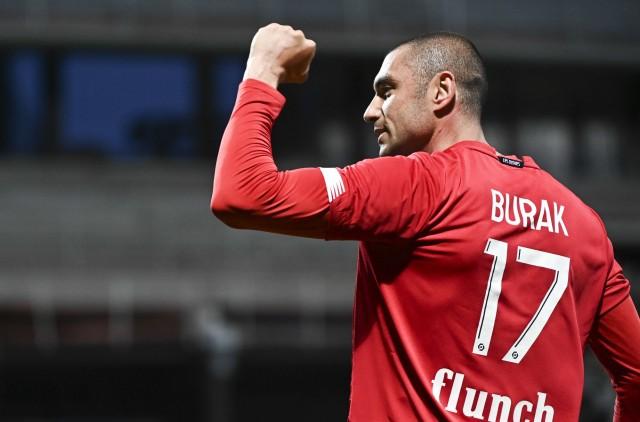 Burak Yilmaz loin d'un départ du Lille OSC