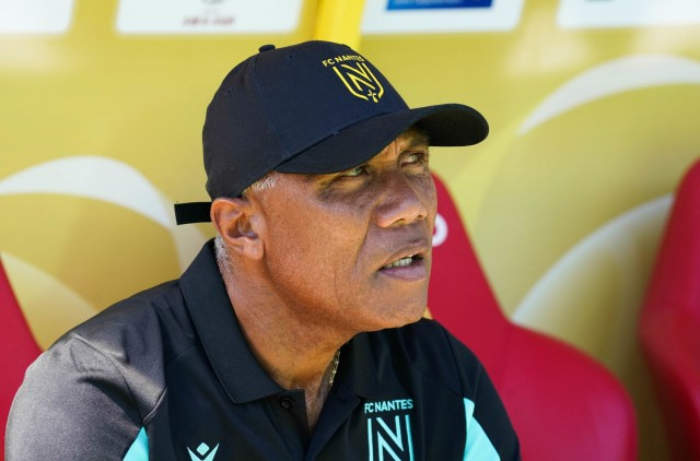 Antoine Kombouaré, le coach du FC Nantes