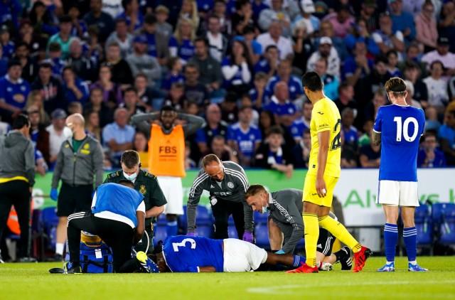 Wesley Fofana touché en amical avec Leicester