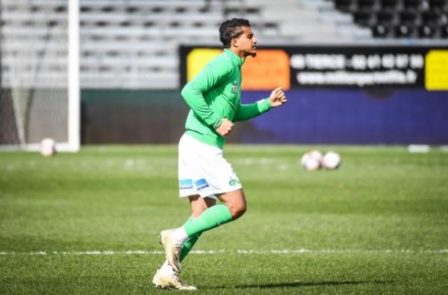Aïmen Moueffek de retour avec l'AS Saint-Étienne