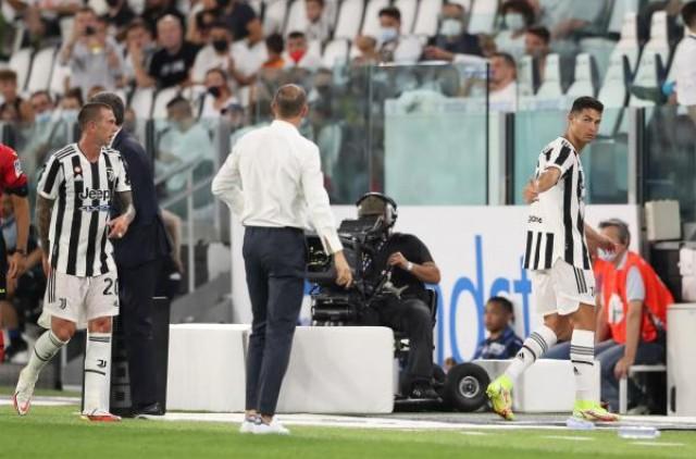 Cristiano Ronaldo sous le maillot de la Juventus de Turin