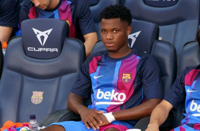 Ansu Fati heir to Lionel Messi at FC Barcelona