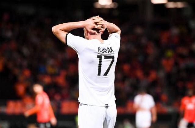 Le Lille OSC défait par le FC Lorient