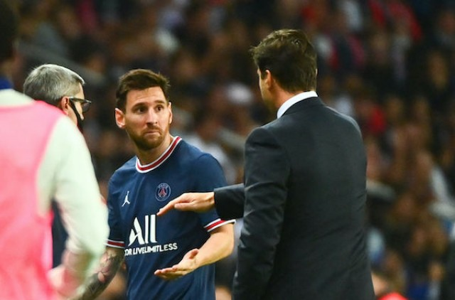 PSG : The black look of Lionel Messi to Pochettino