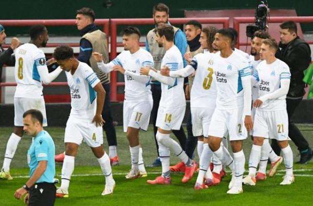 Marseille accroché par le Lokomotiv Moscou