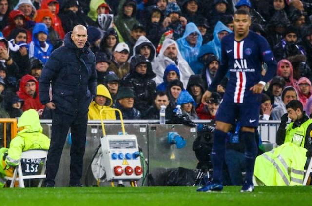 Zidane au psg pour retenir Mbappé