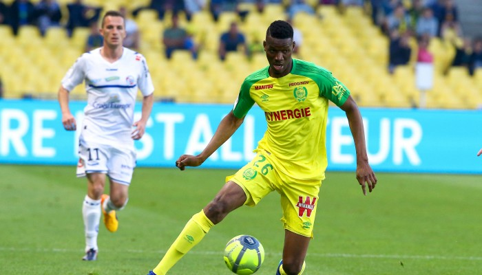 fc nantes kalifa coulibaly r ve du 1er match contre l as. Black Bedroom Furniture Sets. Home Design Ideas