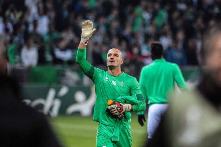 Jessy Moulin, 2e gardien de but de l'ASSE