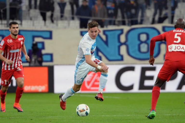 Vincent Labrune révèle que Florian Thauvin était parti de l'OM pour Newcastle United à contrecoeur