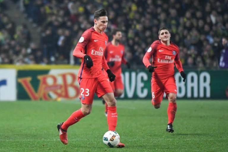 Julian Draxler sur la liste UEFA du PSG contre le Barça.