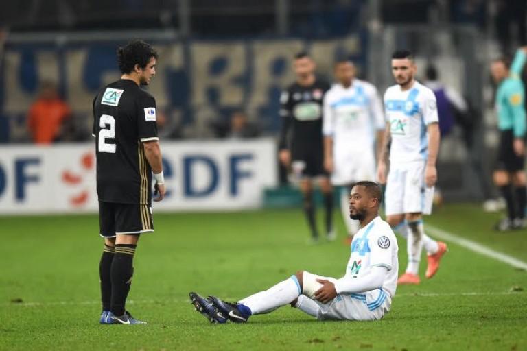 Patrice Evra OM -  Rien de grave selon le coach de Marseille